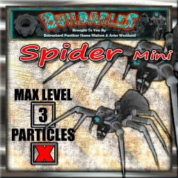 Display crate Spider mini