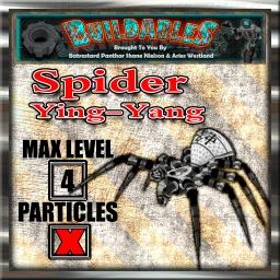Display crate Spider ying-yang