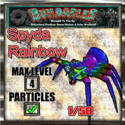 Display crate Spyda Rainbow