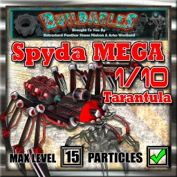 Display crate Spyda2 Mega Tarantula
