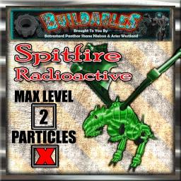 Display crate Spitfire Radioactive