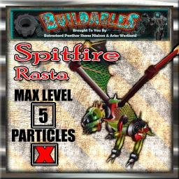 Display crate Spitfire Rasta
