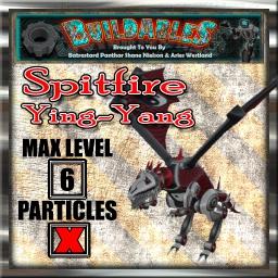 Display crate Spitfire ying-yang