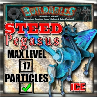 Display crate Steed Pegasus Ice