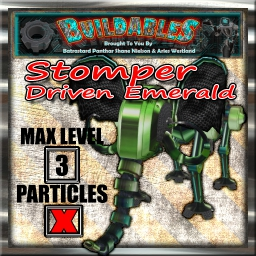 Display crate Stomper Driven Emerald