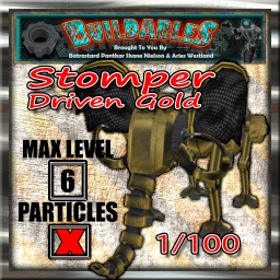 Display crate Stomper Driven Gold 1of100