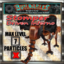 Display crate Stomper Driven Inferno