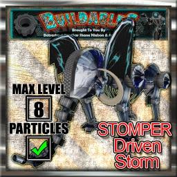 Display crate Stomper Driven Storm