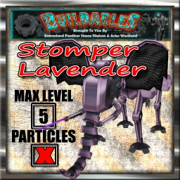 Display crate Stomper Lavender