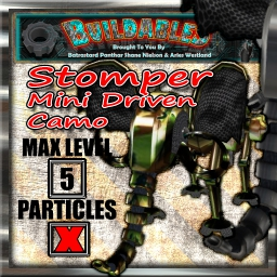 Display crate Stomper mini driven Camo