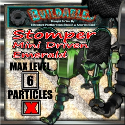 Display crate Stomper mini driven Emerald