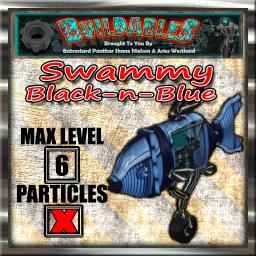Display crate Swammy Black-n-Blue