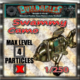 Display crate Swammy Camo 1of250