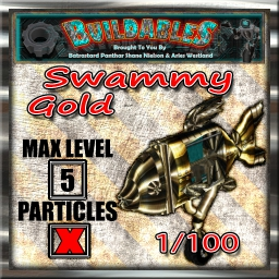 Display crate Swammy Gold 1of100