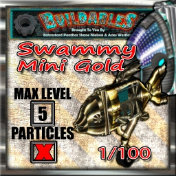 Display crate Swammy Mini Gold 1of100