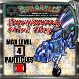 Display crate Swammy Mini Sky