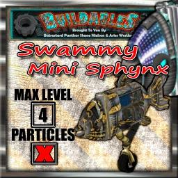 Display crate Swammy Mini Sphynx