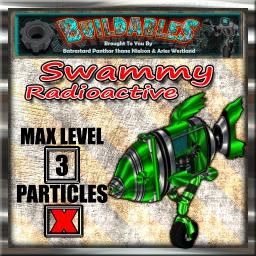 Display crate Swammy Radioactive
