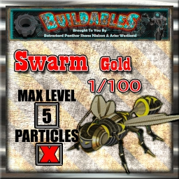 Display crate Swarm Gold 1of100