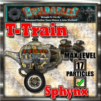 Display crate T Train Sphynx