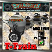 Display crate T Train