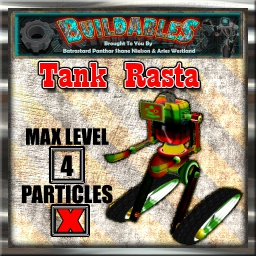 Display crate Tank Rasta
