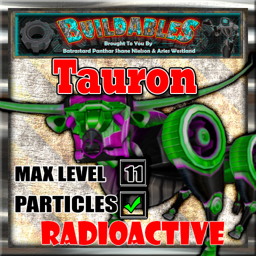 Display crate Tauron Radioactive