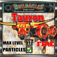 Display crate Tauron Fire