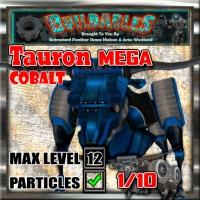 Display crate Tauron Mega Cobalt