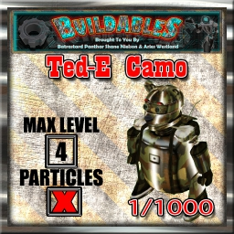 Display crate Ted-E Camo 1of1000