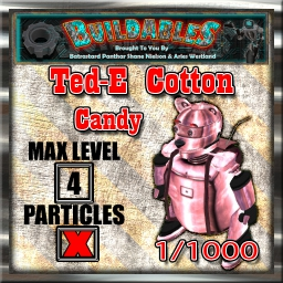 Display crate Ted-E Cotton Candy 1of1000