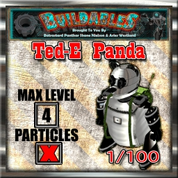 Display crate Ted-E Panda 1of100