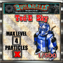 Display crate Ted-E Sky 1of500