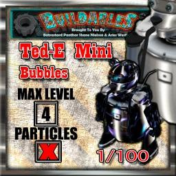 Display crate Ted-E mini bubbles