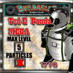 Display crate Ted-E panda mega 1of10