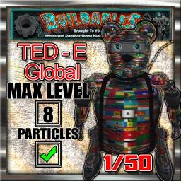 Display crate Ted e Global