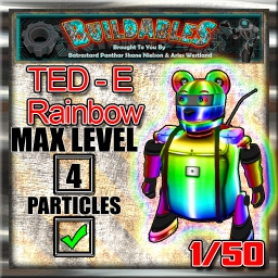 Display crate Ted e Rainbow