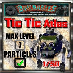 Display crate Tic Tic Atlas