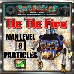 Display crate Tic Tic Fire