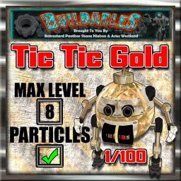 Display crate Tic Tic Gold