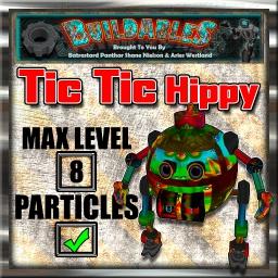 Display crate Tic Tic Hippy