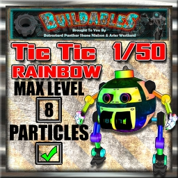Display crate Tic Tic Rainbow