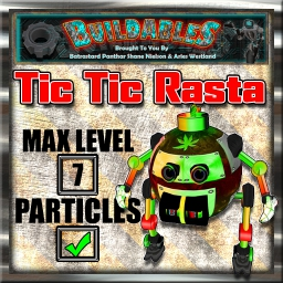 Display crate Tic Tic Rasta