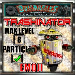 Display crate Trashinator Emoji