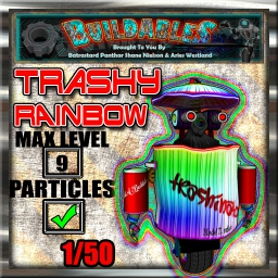 Display crate Trashinator RainB