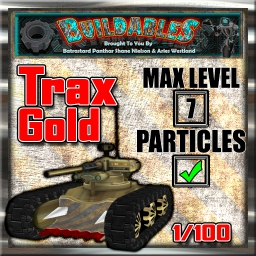 Display crate Trax Gold 1of100