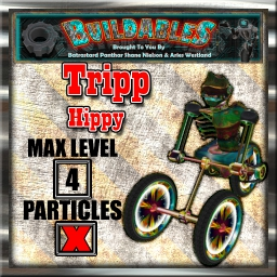Display crate Tripp Hippy