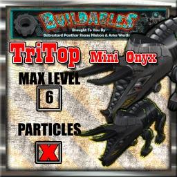 Display crate TriTop mini Onyx