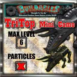 Display crate TriTop mini camo