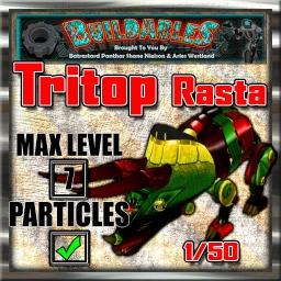 Display crate Tritop Rasta